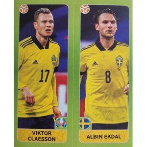 Panini EURO 2020 Sticker Nr 542 Claesson Ekdal