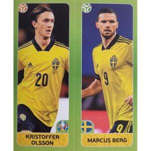 Panini EURO 2020 Sticker Nr 544 Olsson Berg