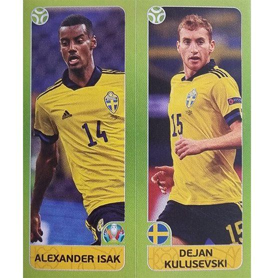 Panini EURO 2020 Sticker Nr 545 Isak Kulusevski