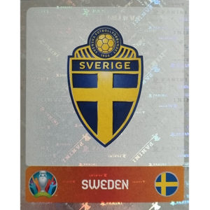 Panini EURO 2020 Sticker Nr 546 Sweden Logo