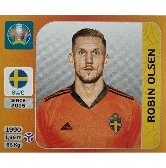 Panini EURO 2020 Sticker Nr 547 Robin Olsen