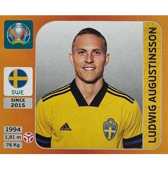 Panini EURO 2020 Sticker Nr 548 Ludwig Augustinsson
