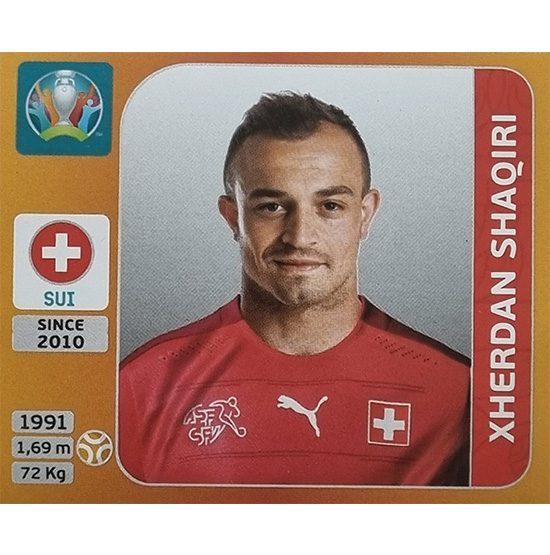 Panini EURO 2020 Sticker Nr 055 Xherdan Shaqiri