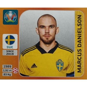 Panini EURO 2020 Sticker Nr 550 Marcus Danielson