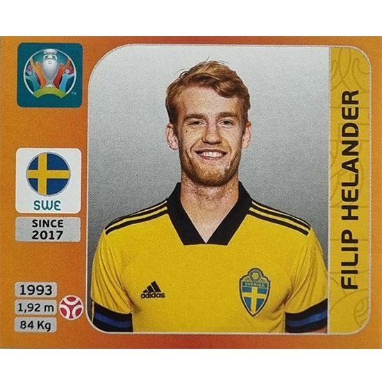 Panini EURO 2020 Sticker Nr 552 Filip Helander