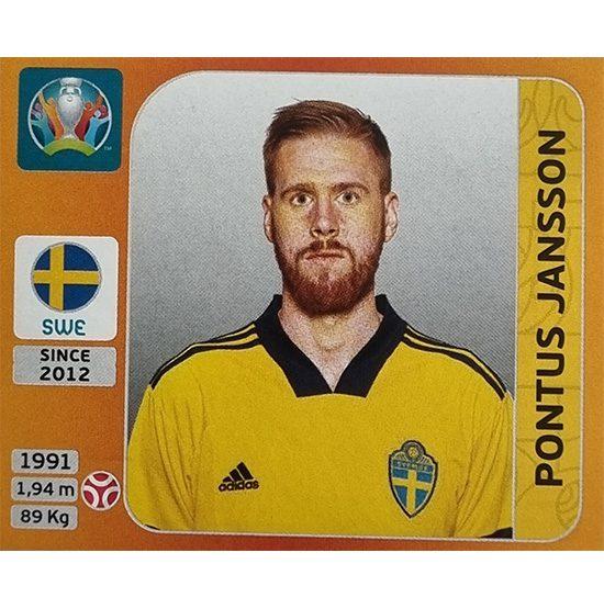 Panini EURO 2020 Sticker Nr 553 Pontus Janson