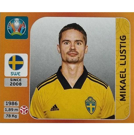 Panini EURO 2020 Sticker Nr 554 Mikael Lustig
