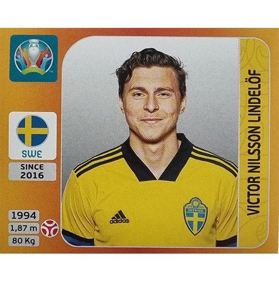 Panini EURO 2020 Sticker Nr 555 Viktor Nilsson Lindelöf