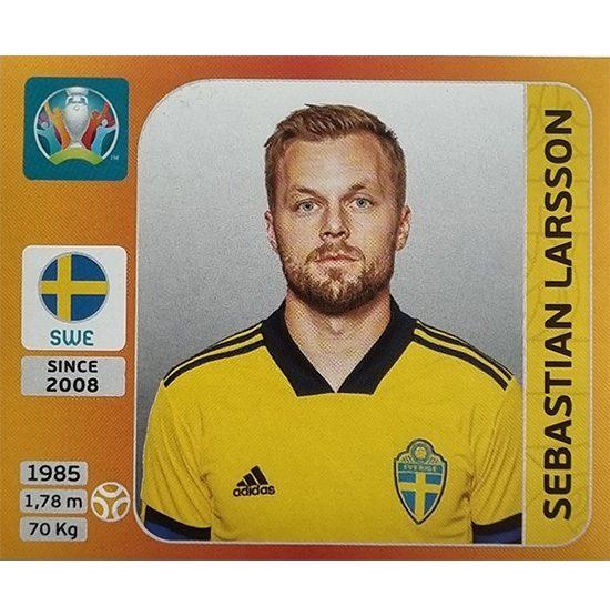 Panini EURO 2020 Sticker Nr 559 Sebastian Larsson