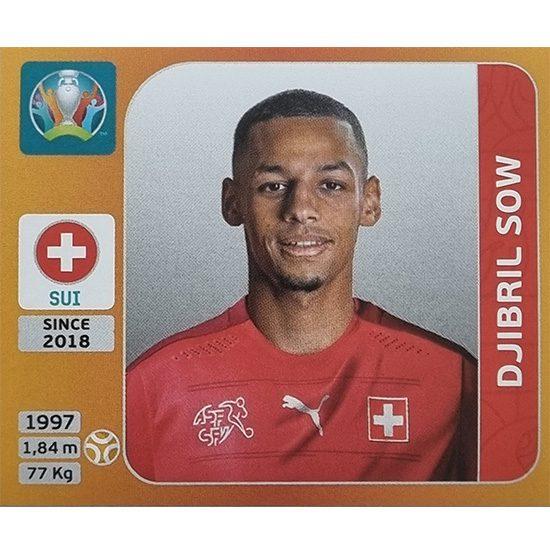Panini EURO 2020 Sticker Nr 056 Djibril Sow