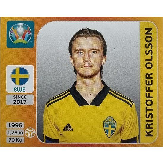 Panini EURO 2020 Sticker Nr 560 Kristoffer Olsson