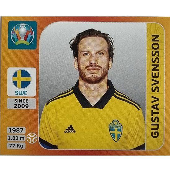 Panini EURO 2020 Sticker Nr 562 Gustav Svensson