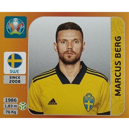 Panini EURO 2020 Sticker Nr 563 Marcus Berg