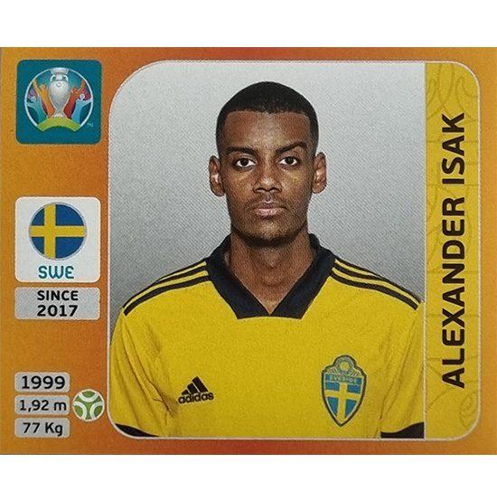 Panini EURO 2020 Sticker Nr 564 Alexander Isak