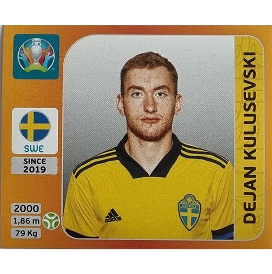 Panini EURO 2020 Sticker Nr 565 Dejan Kulusevski