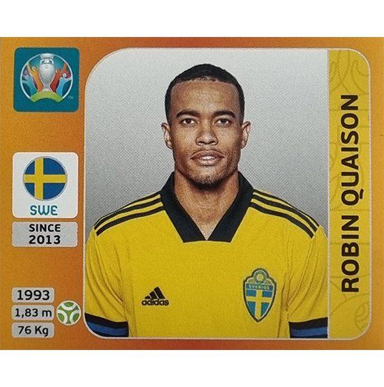 Panini EURO 2020 Sticker Nr 566 Robin Quaison