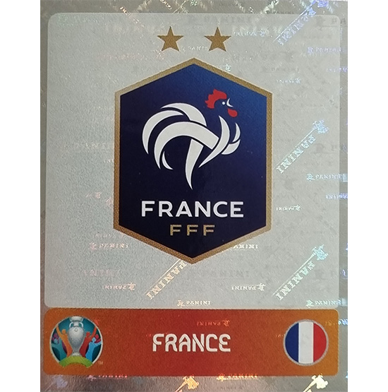Panini EURO 2020 Sticker Nr 571 France Logo