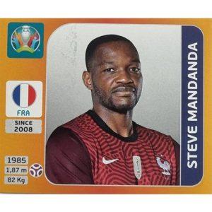 Panini EURO 2020 Sticker Nr 573 Steve Mandana