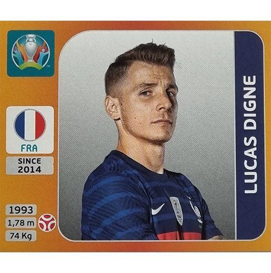 Panini EURO 2020 Sticker Nr 574 Lucas Digne
