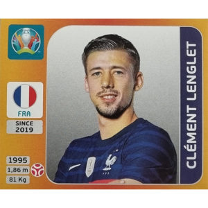 Panini EURO 2020 Sticker Nr 577 Clement Lenglet