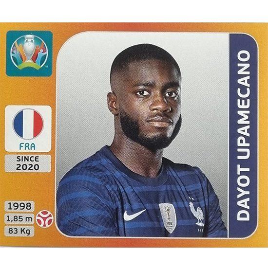 Panini EURO 2020 Sticker Nr 579 Dayot Upamecano