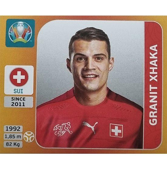 Panini EURO 2020 Sticker Nr 058 Granit Xhaka