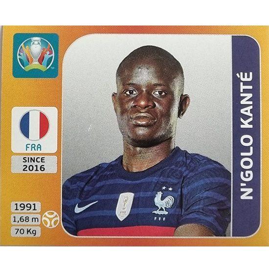 Panini EURO 2020 Sticker Nr 582 N´Golo Kante
