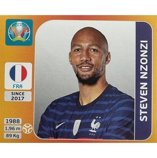 Panini EURO 2020 Sticker Nr 583 Steven Nzoni
