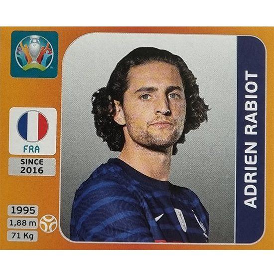 Panini EURO 2020 Sticker Nr 585 Adrien Rabiot
