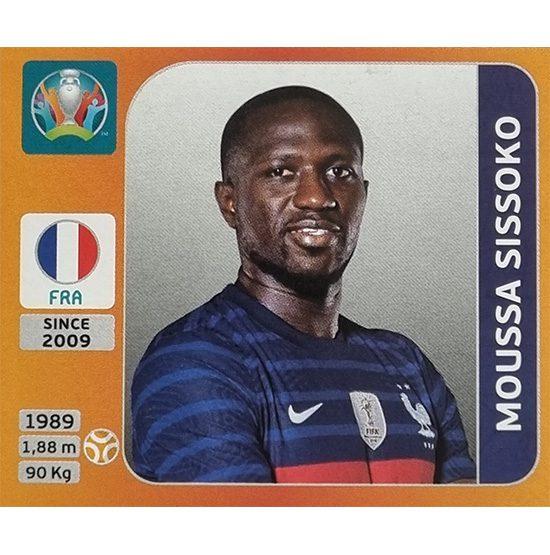 Panini EURO 2020 Sticker Nr 586 Moussa Sissoko