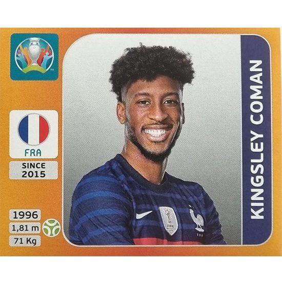 Panini EURO 2020 Sticker Nr 587 Kingsley Coman