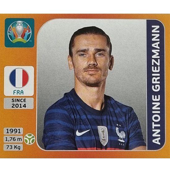 Panini EURO 2020 Sticker Nr 589 Antoine Griezmann