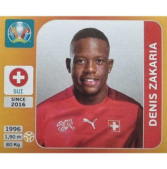 Panini EURO 2020 Sticker Nr 059 Denis Zakaria