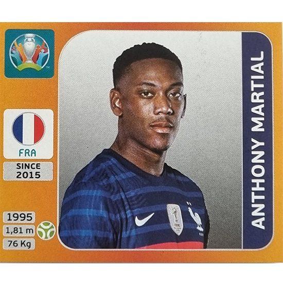 Panini EURO 2020 Sticker Nr 590 Anthony Martial
