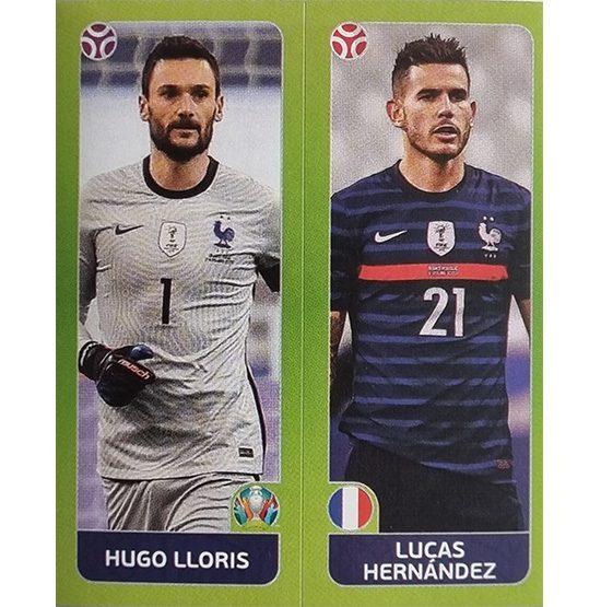 Panini EURO 2020 Sticker Nr 592 LLoris Hernandez