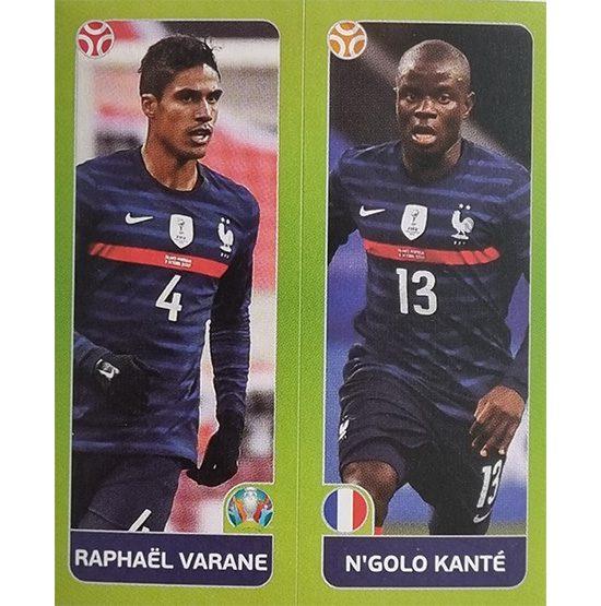 Panini EURO 2020 Sticker Nr 594 Varane Kante