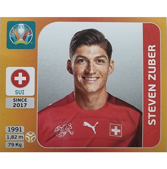 Panini EURO 2020 Sticker Nr 060 Steven Zuber