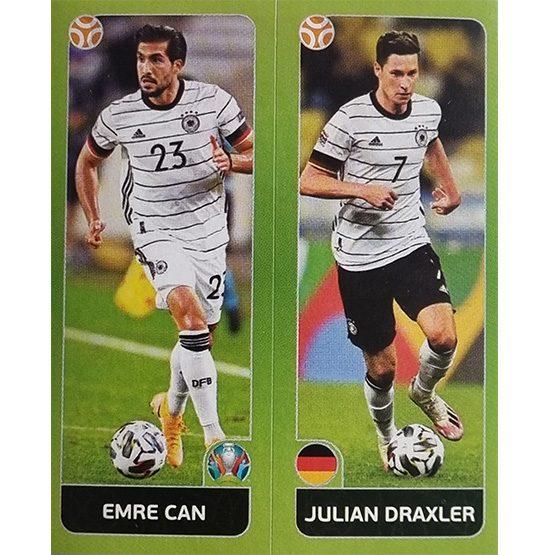 Panini EURO 2020 Sticker Nr 600 Can Draxler