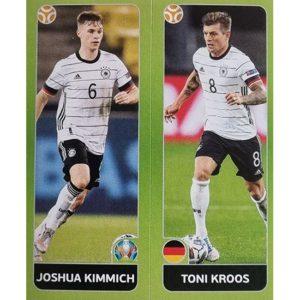Panini EURO 2020 Sticker Nr 602 Kimmich Kroos