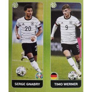 Panini EURO 2020 Sticker Nr 603 Gnabry Werner