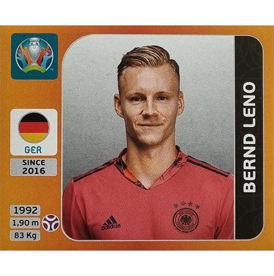 Panini EURO 2020 Sticker Nr 606 Bernd Leno