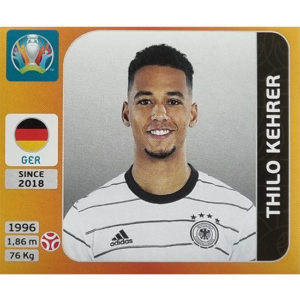 Panini EURO 2020 Sticker Nr 608 Thilo Kehrer