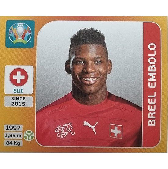 Panini EURO 2020 Sticker Nr 061 Breel Embolo