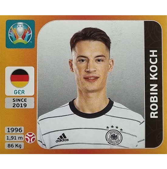 Panini EURO 2020 Sticker Nr 610 Robin Knoche