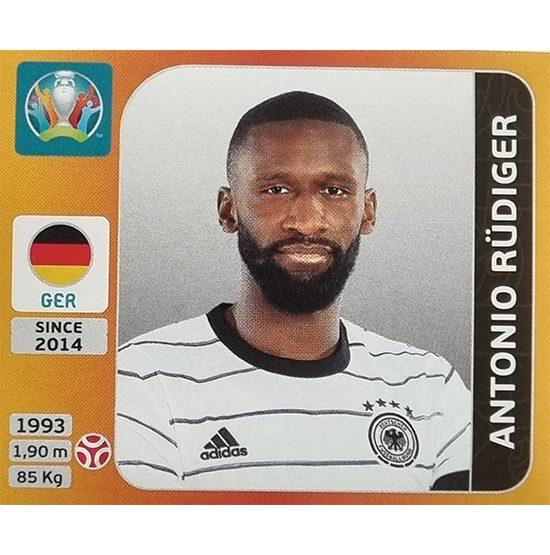 Panini EURO 2020 Sticker Nr 611 Antonio Rüdiger