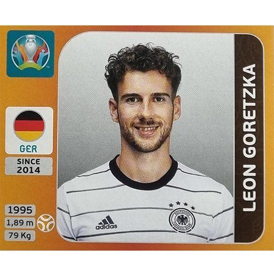 Panini EURO 2020 Sticker Nr 616 Leon Goretzka