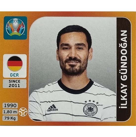 Panini EURO 2020 Sticker Nr 617 Ilkay Gündogan
