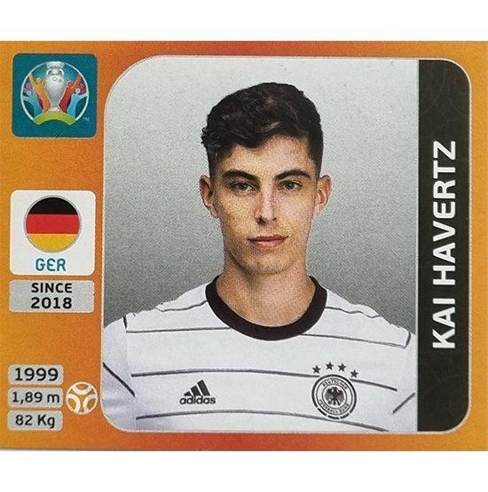 Panini EURO 2020 Sticker Nr 618 Kai Havertz