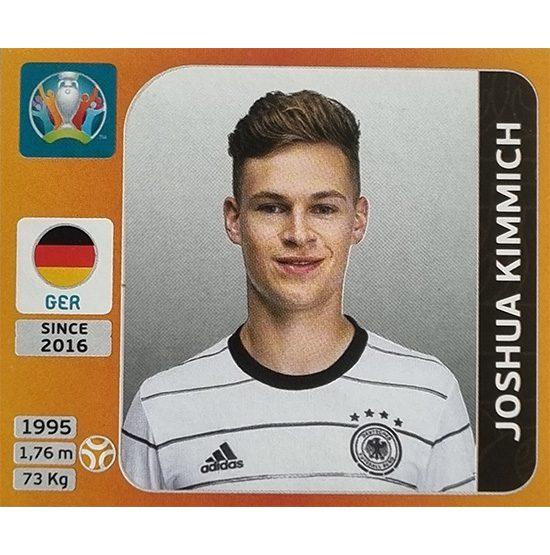 Panini EURO 2020 Sticker Nr 619 Joshua Kimmich