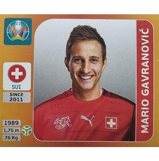 Panini EURO 2020 Sticker Nr 062 Mario Gavranovic